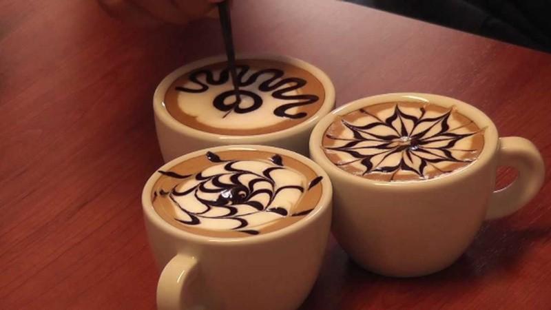 данной делать рисунок на кофе как популярность