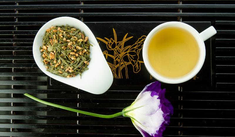 Зеленый чай с рисом