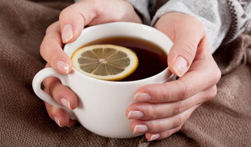 Кофе с лимоном от простуды