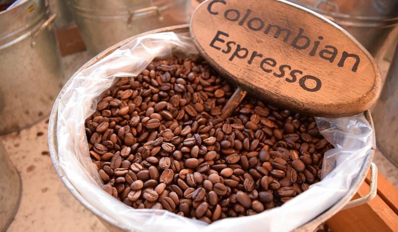 Колумбийские кофейные зерна