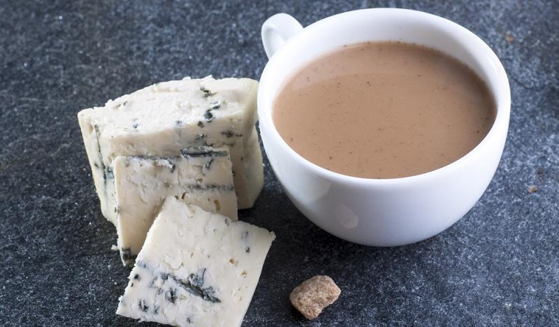 Кофе с сыром без молока